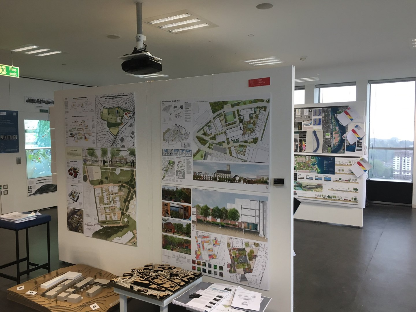 Exhibition Day - Sheffield University - DEP - Landscape Architecture