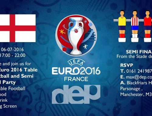 Euro + Table Football Party