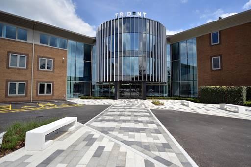 Trident business park complete dep landscape architecture for Landscape architecture uk