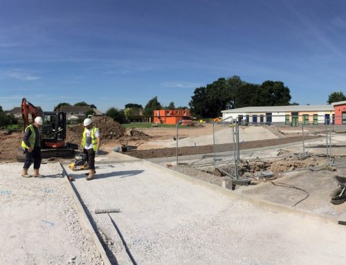 Christ Church CofE Primary School – Starting to take shape